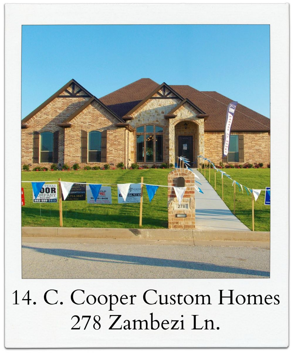 Tyler area builders association parade of homes for Tyler tx home builders